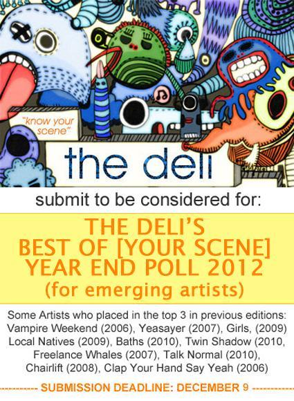The Deli Magazine Best of Portland Year End Poll 2012