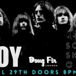 Toy and Soft Shadows at @ Doug Fir Lounge, Portland 4/29/14