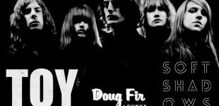 Toy and Soft Shadows at @ Doug Fir Lounge, Portland 4/29/14